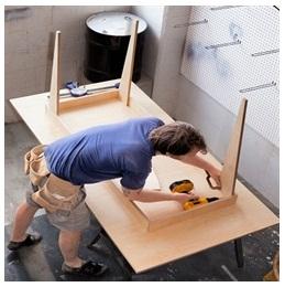 Сборка столов по низким ценам в Коломне от специалистов