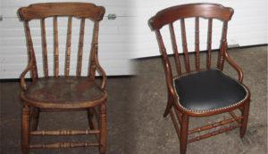 Перетяжка стульев на дому недорого в Коломне