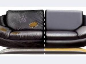 Перетяжка кожаного дивана в Коломне